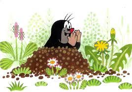 Чешский мультфильм «Крот»
