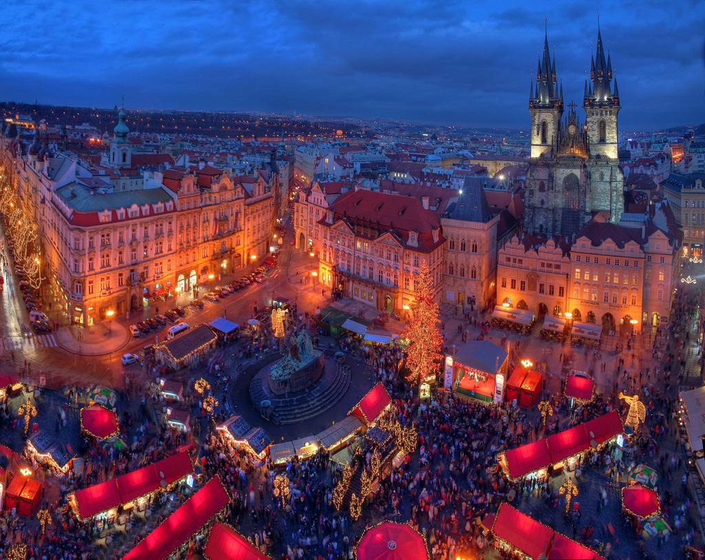 Чешские рождественские ярмарки