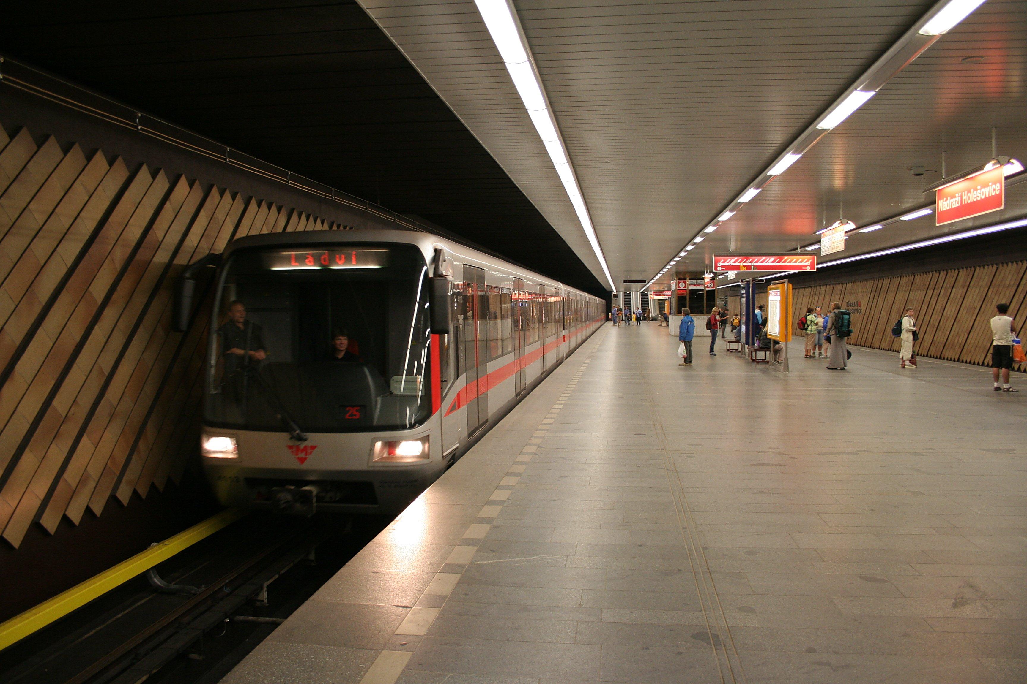 Пражский метрополитен