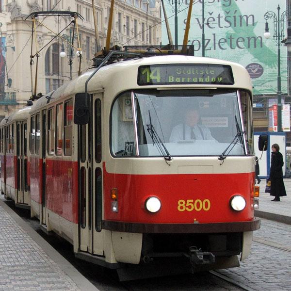 Легендарный пражский трамвай Т3
