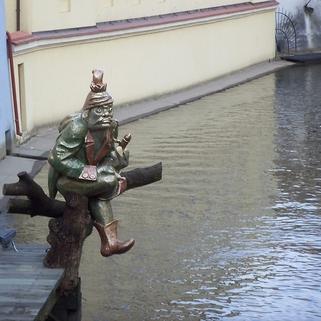 Скульптор Йозеф Налепа