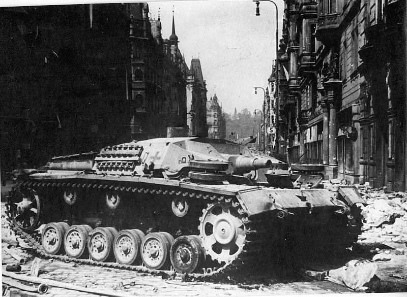 Майское восстание чешского народа