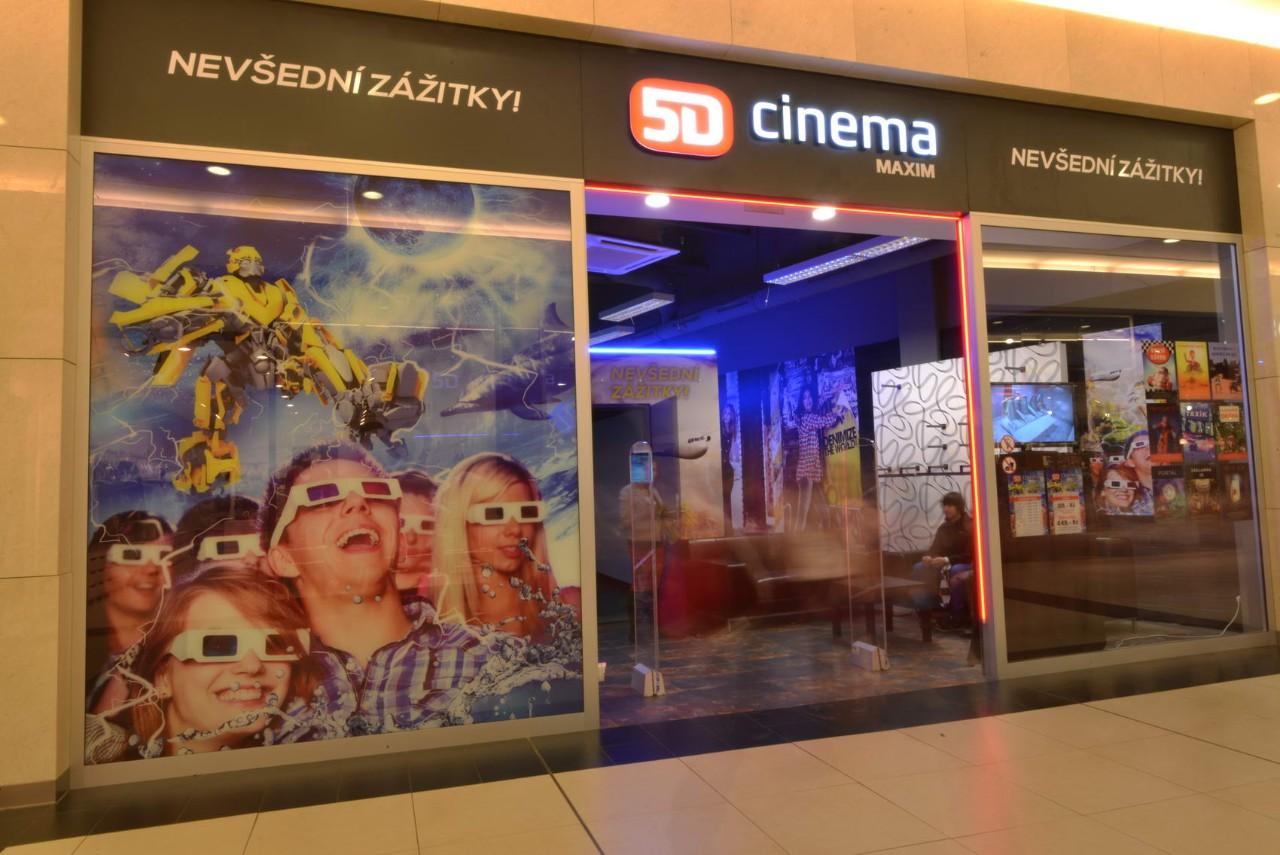 5D кино в Праге