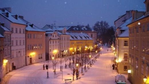 Зимняя Чехия