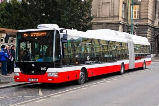 Городские автобусы в Праге