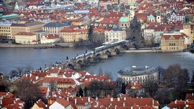 Прага с высоты (смотровые площадки Праги)