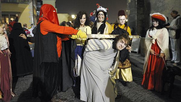 Парад призраков в Праге