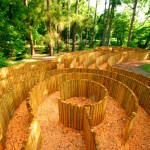 Деревянный лабиринт