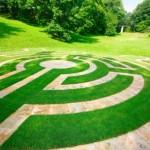 Травяной лабиринт