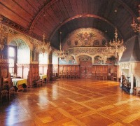 Замок Боузов зал