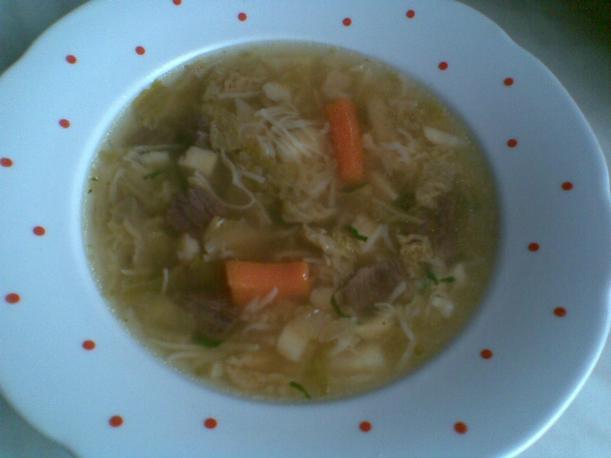 Быстрый суп из говядины