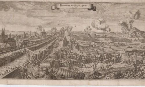 Шведы в Праге 1648-megatour.cz