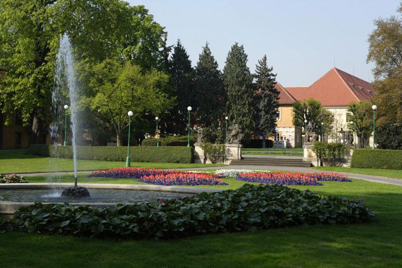 Королевский сад-Пражского Града