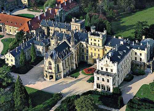 Замок Леднице-megatour.cz