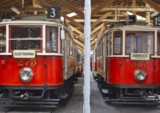 Музей общественного транспорта в Праге- megatour.cz