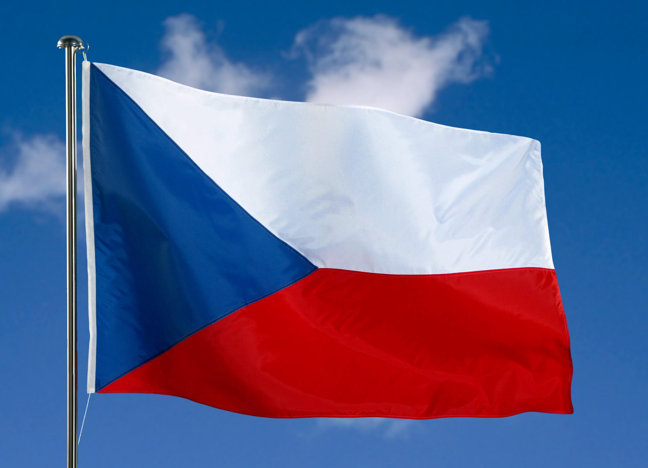 флаг Чехии - megatour.cz