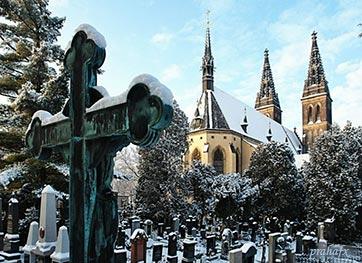 Славин – вышеградское кладбище - megatour.cz