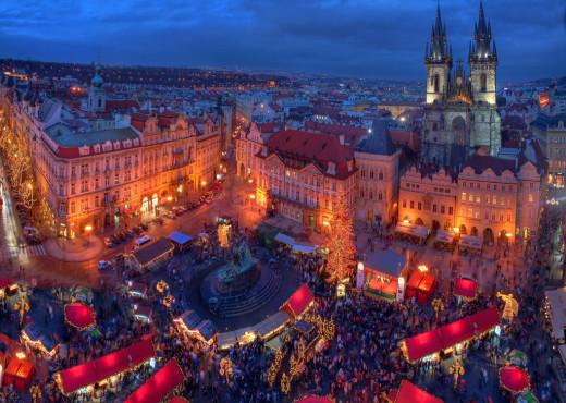 Чешские рождественские ярмарки - megatour.cz
