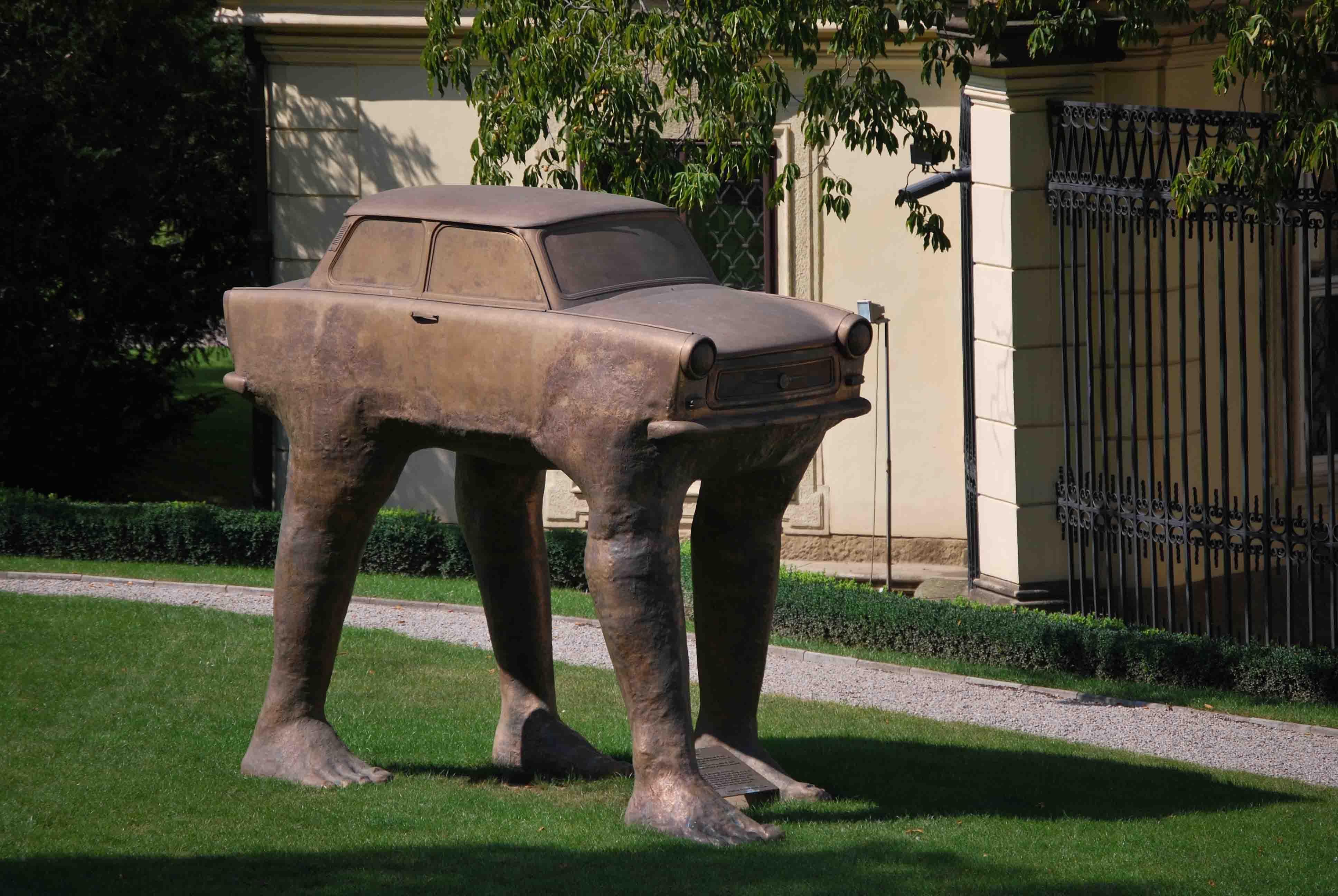 Современное искусство Праги – Давид Черный