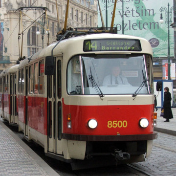 Пражский трамвай Т3 - megatour.cz