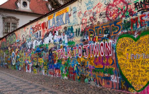 Стена свободы Джона Леннона-megatour.cz