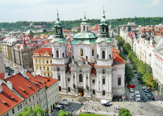 Церковь святого Николая (Прага) - megatour.cz