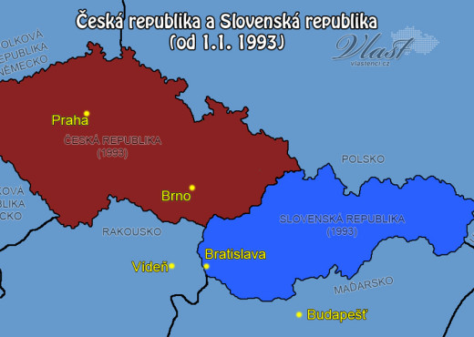 Распад Чехословакии - megatour.cz