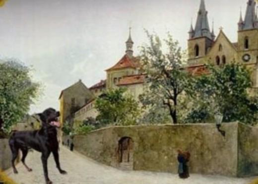 Монахи, превращенные в собак - megatour.cz