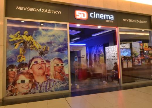5D кино в Праге - megatour.cz