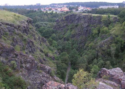 Природный парк – «Divoká Šárka»  с высоты - megatour.cz