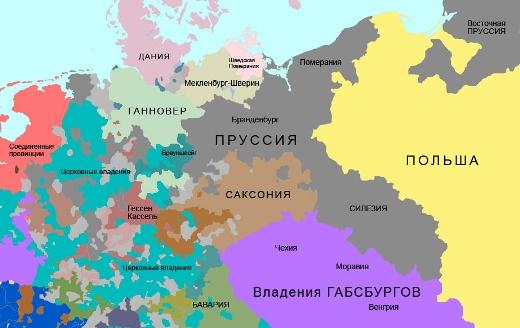 историческая карта 1756 год - megatour.cz