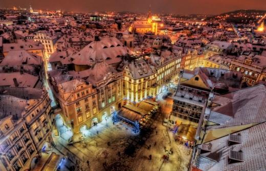 зимняя Прага - megatour.cz