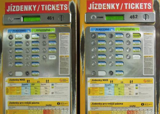 Как купить проездной билет - megatour.cz