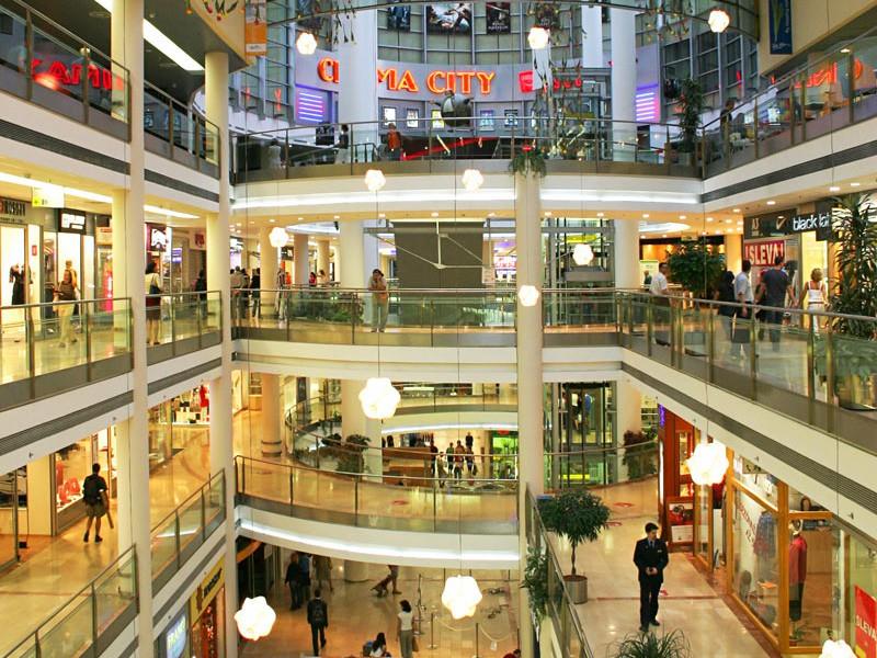 Торговый центр Новый Смихов («Nový Smíchov»)