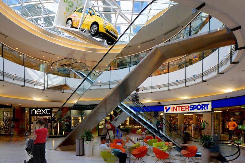 Торговый центр «Мыслбек» («Myslbek»)