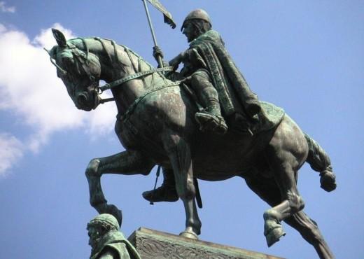 Памятник Святому Вацлаву на коне - megatour.cz
