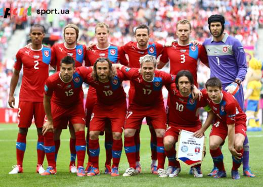 Сборная Чехии перед матчем с Грецией на ЕВРО 2012 - megatour.cz