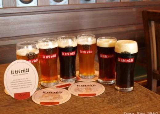 Сорта пива в ресторане