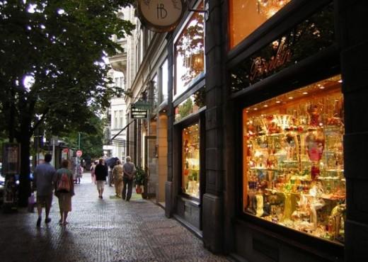 Парижская улица - улица самых дорогих магазинов - megatour.cz