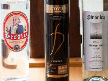 Три разных вида чешской пивовицы