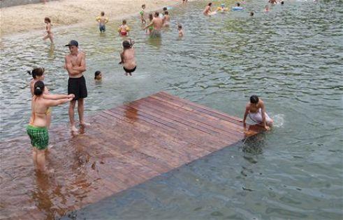 Пляж Stříbrné jezero - Megatour.cz