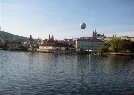 Воздушный шар на Прагой - megatour.cz