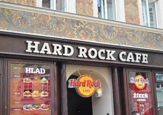 Hard Rock Cafe - megatour.cz