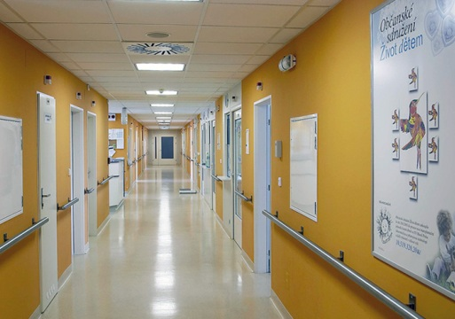 Интерьер больницы Мотол - megatour.cz