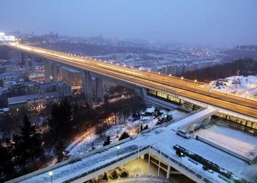 Нусельский мост зимой - megatour.cz