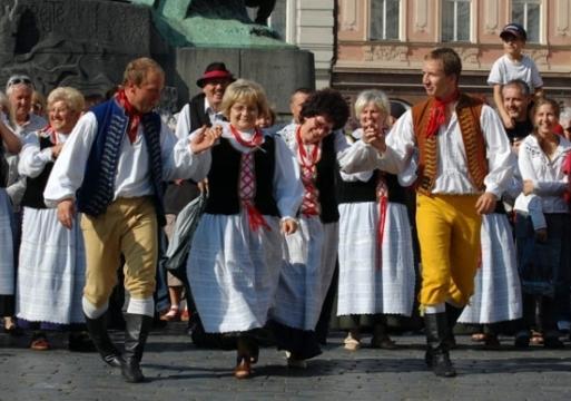 Чешский народный танец Полька - Megatour.cz