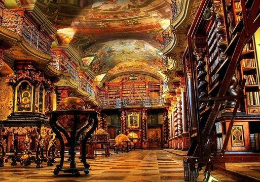 Библиотека Klementinum в Праге - Megatour.cz