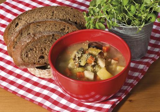 Картофельный суп «Брамборачка»