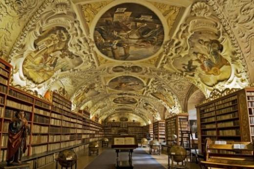 Страговская библиотека в Праге - Megatour.cz