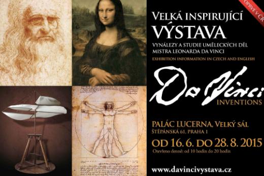 Выставка Леонардо да Винчи в Праге - Megatour.cz